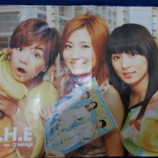 S.H.E. (Front) & F.I.R. (Back) Magazine Poster