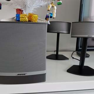 Bose speakers ( model Companion 5 )