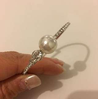 婚禮物資:珍珠閃石手鐲手鏈