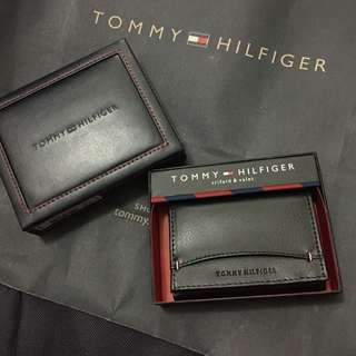 Authentic Tommy Hilfiger Genuine Leather Wallet