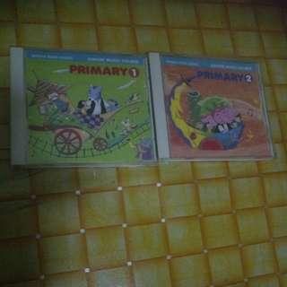 Yamaha music English CDS songs/music