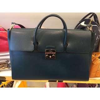 Furla satchel metropolis handbag