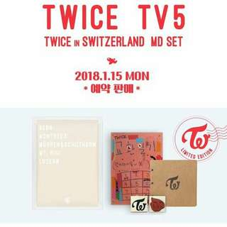 TWICE TV5 : TWICE IN SWITZERLAND MD SET