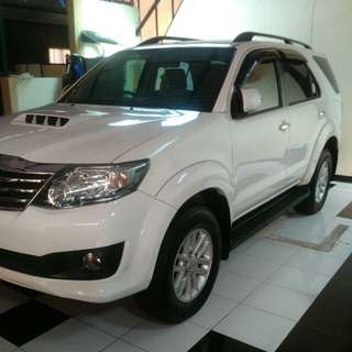 Toyota Fortuner VNT Turbo 2013 Matic