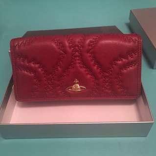 Vivienne Westwood 紅色長銀包