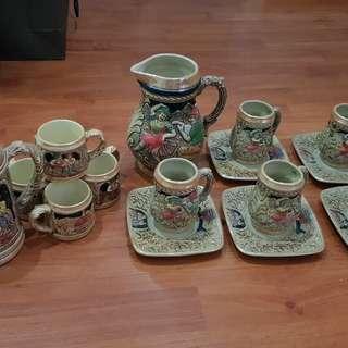 Antique Design Tea Set