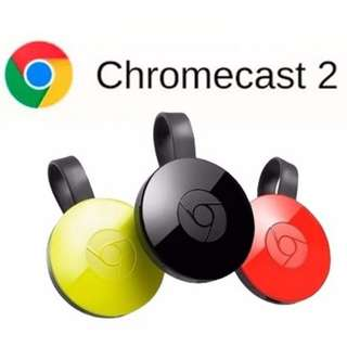 Google Chromecast 2 HDMI Media Streaming Device  BRAND NEW!!!