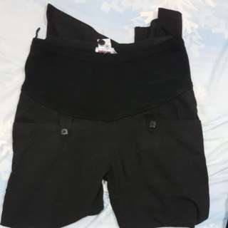 Maternity long pants (black)
