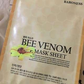 Baroness - Bee Venom Mask Sheet