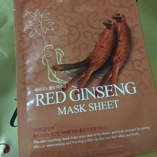 Baroness - Red Ginseng Mask Sheet