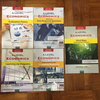 Assorted Anthony Fok Economics Guidebooks (H1/H2)