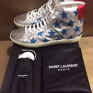 Saint laurent sliver star sneaker