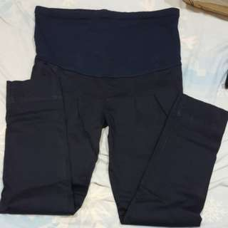 Maternity long pants (dark blue)