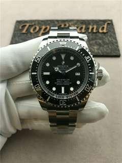 Rolex 劳力士 Deep Sea 黑鬼王 44mm 116660