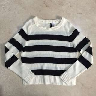 DIVIDED by H&M Pullover Sweater Crop Top