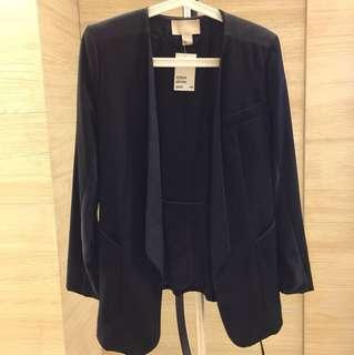 🚚 H&M 15%羊毛西裝外套 全新有吊牌 32號