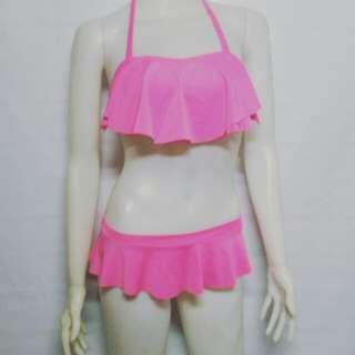 Neon Pink 2 piece