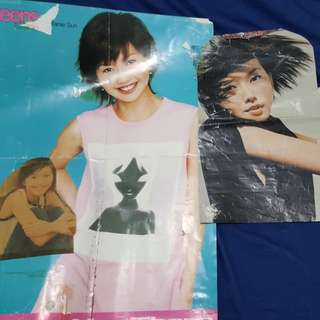 Stefanie Sun Magazine Cut Out Figure and Poster