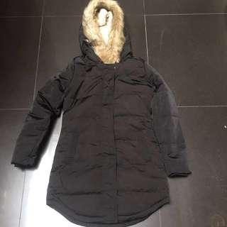 BN long coat duck down parka winter outerwear