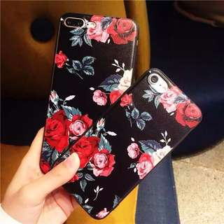 Floral iPhone Case For iPhone 5