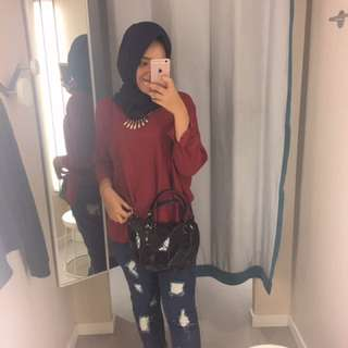 Red Blouse, H&M look alike❤️