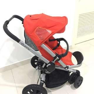 Maxi Cosi Stroller + Baby Basket