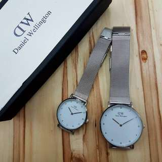 Daniel Wellington Steel Couple Watch