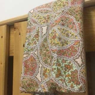 Paisley Print Cotton Fabric (4M)