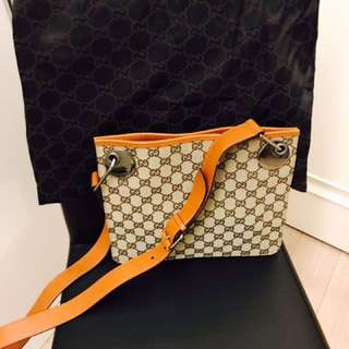 Gucci handbag 80% new