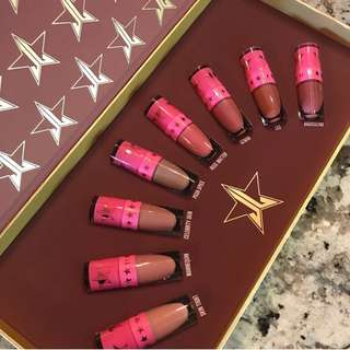 [Authentic] Jeffree Star Mini Nudes Bundle - Velour Liquid Lip