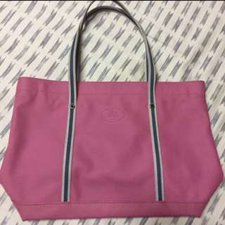LACOSTE Pink Tote Bag