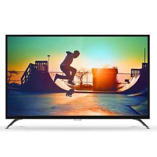 "Philips 6000 4K 50"" led tv"