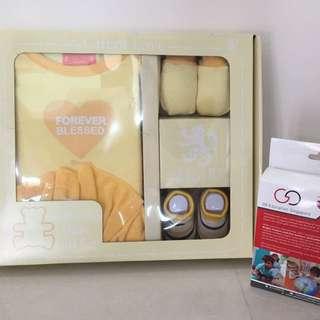 BNIB Sheares Baby Gift Set (4pcs) & Bottle Warmer bundle
