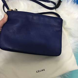 💯 %Authentic Celine trio small size
