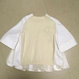 Sold out (Sacai top)