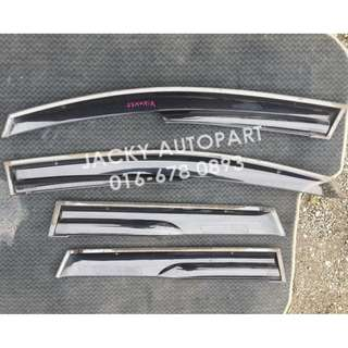 Door Visor Air Press Mugen Honda Airwave GJ Japan