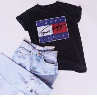 Tommy top black