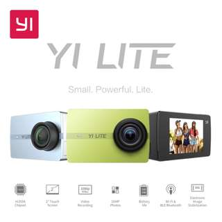 [PO] YI Lite Action Camera 16MP Real 4K Sports Camera Only (Black) [Overseas]