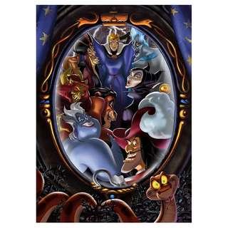 日本代購 Tenyo Japan Jigsaw Puzzle Disney Villains – Fear Of The Avengers (D-500-480)