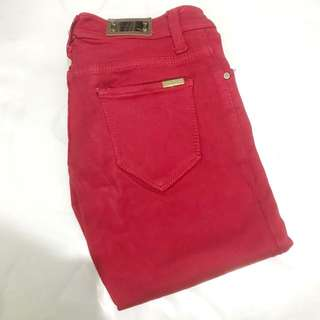 Jegging Zara Red