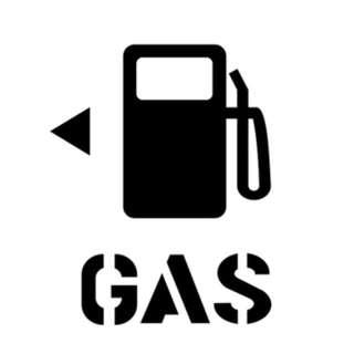 🚚 GAS 加油 加氣 反光貼 後玻璃貼 汽車 機車 摩托車 電動車 貼紙 車貼 防水耐熱