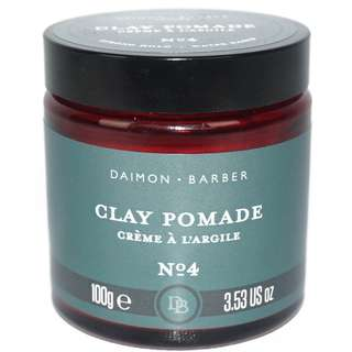 (INSTOCKS) Daimon Barber No. 4 Clay Pomade