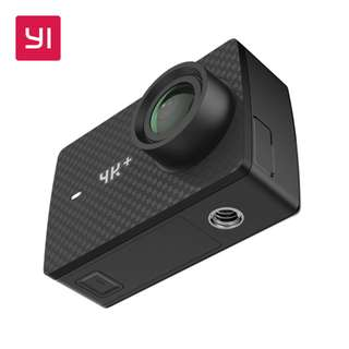 YI 4K+(Plus) Action Camera only International Edition Camera Only(Black) [Overseas]