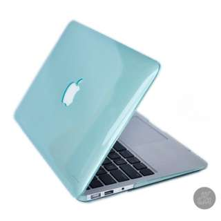"""Macbook 15"""" Pro crystal casing light turquoise"""