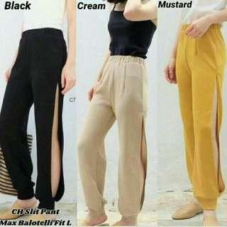 CH slit pants