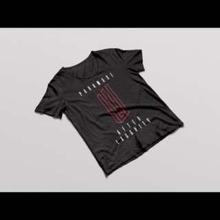 Pre order T-Shirt Paramore Live Jakarta 2018/Tour Four