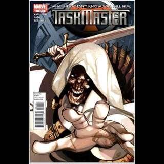 TASKMASTER #1 (2010) 1st Issue!