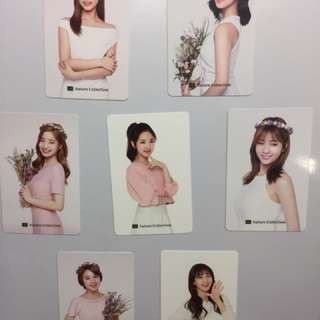 Twice Nature Collection Photocard