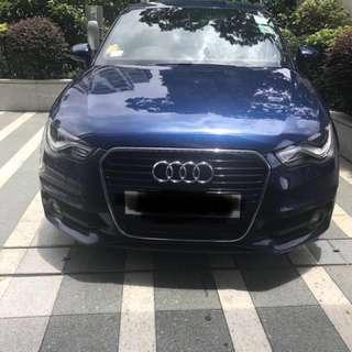 Audi A1 sline 185hp. 2011.  牌費到2018年7月 女車主