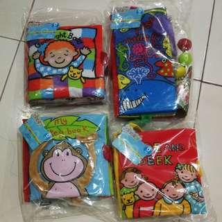 🔆 ready stock 🔆Jolly baby cloth books
